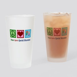 Special Education Teacher Drinking Glass