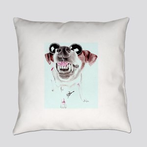 Daisy in Shades Everyday Pillow