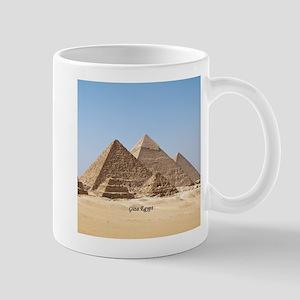 Pyramids at Giza Egypt Mugs