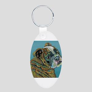 Olde English Bulldogge Keychains