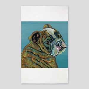 Olde English Bulldogge Area Rug
