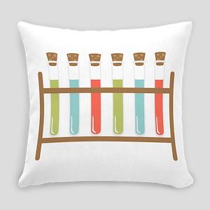 Test Tubes Everyday Pillow