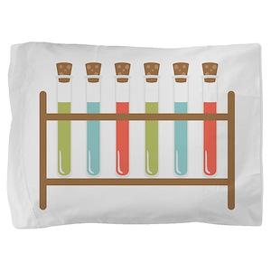 Test Tubes Pillow Sham