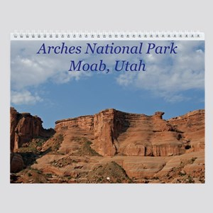 Arches National Park Wall Calendar