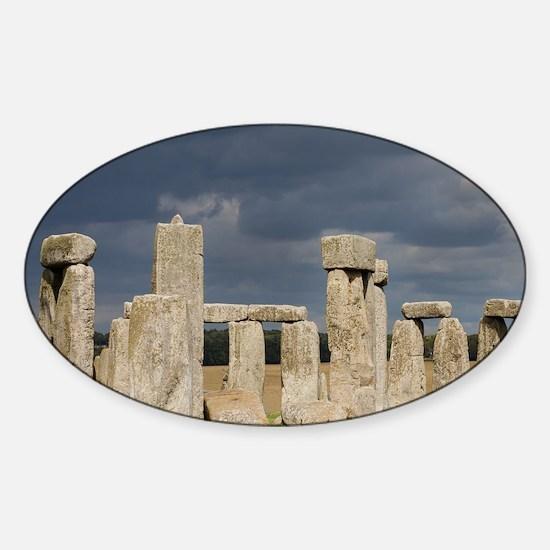 Cute Prehistoric kingdom Sticker (Oval)