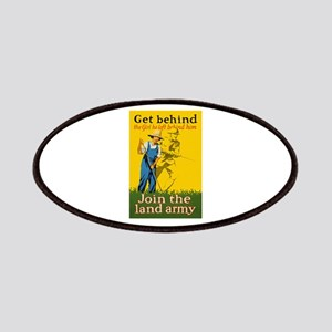 Victory Garden Join Land Army WWI Propaganda Patch
