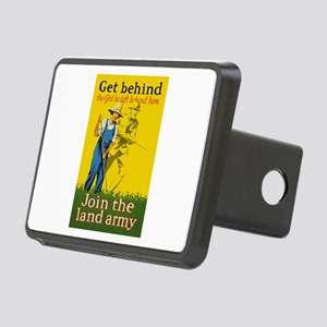 Victory Garden Join Land A Rectangular Hitch Cover