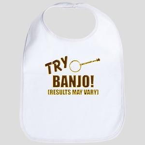 Retro Banjo Baby Bib