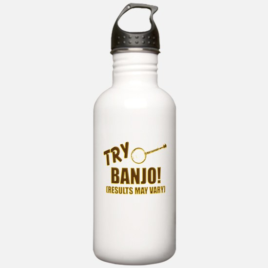 Retro Banjo Water Bottle