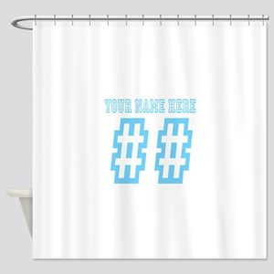 game day Shower Curtain