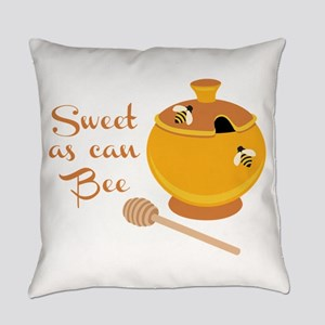 Sweet As Can Bee Everyday Pillow