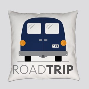 Road Trip Everyday Pillow