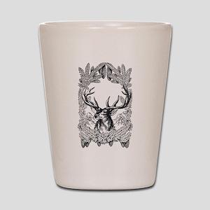 Manly Deer Shot Glass