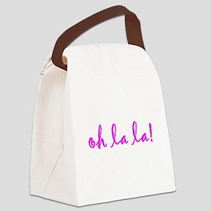 oh la la! Canvas Lunch Bag