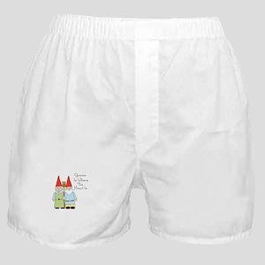 Gardening Gnome Couple Boxer Shorts