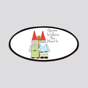Gardening Gnome Couple Patch