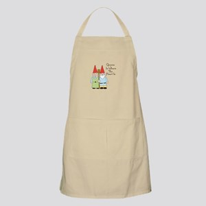 Gardening Gnome Couple Apron