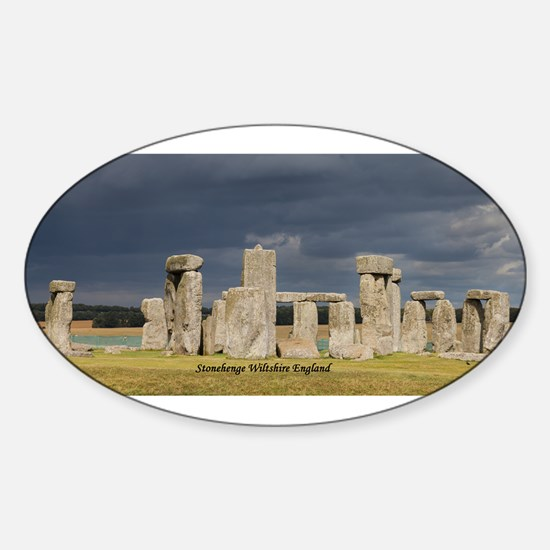 Stonehenge Wiltshire England United Kingdo Decal