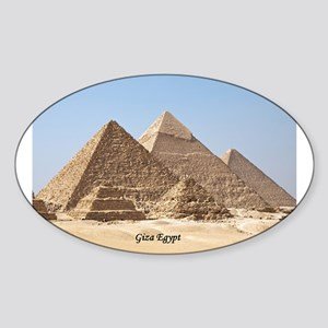 Pyramids at Giza Egypt Sticker