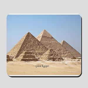 Pyramids at Giza Egypt Mousepad