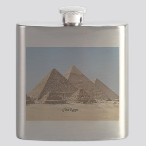 Pyramids at Giza Egypt Flask