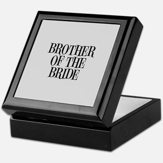 Brother of the Bride Keepsake Box