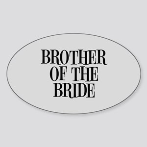 Brother of the Bride Sticker