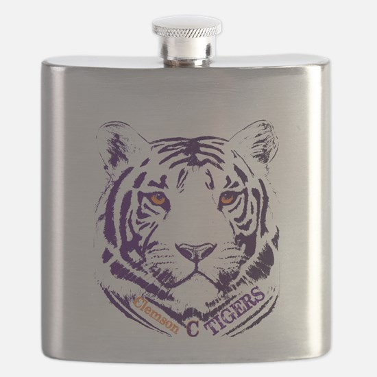 Funny College football Flask