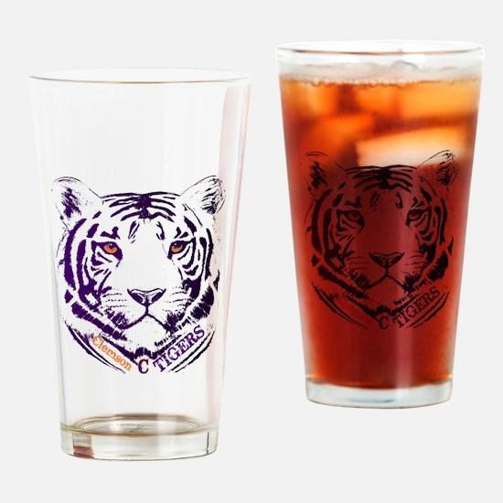 Cute Clemson Drinking Glass