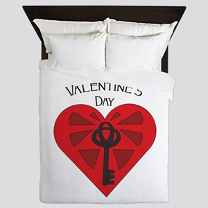 Valentine Heart Queen Duvet