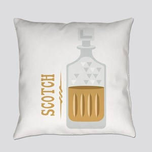 Bourbon Bottle Everyday Pillow
