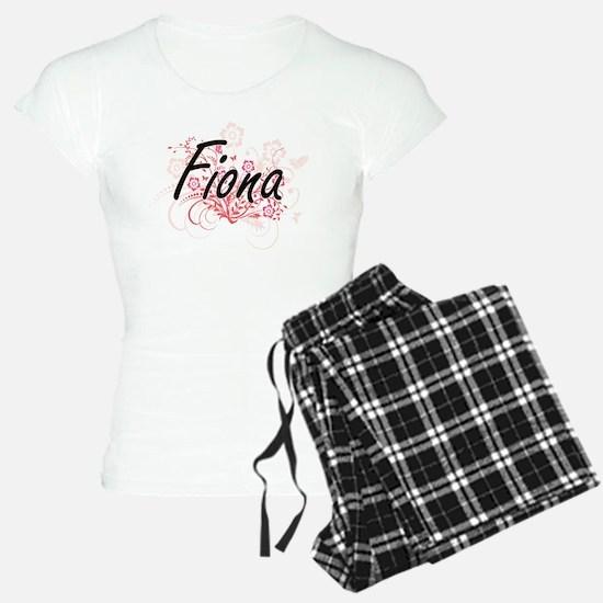Fiona Artistic Name Design Pajamas