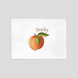 Peachy 5'x7'Area Rug