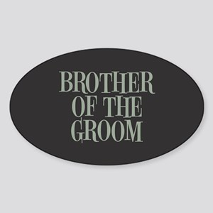 Brother of the Groom Sticker