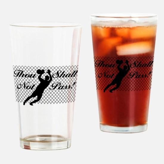 Goal Keeper Classic Drinking Glass