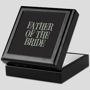 Father of the Bride Keepsake Box