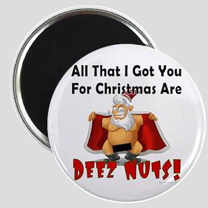 Santa Deez Nuts Magnet