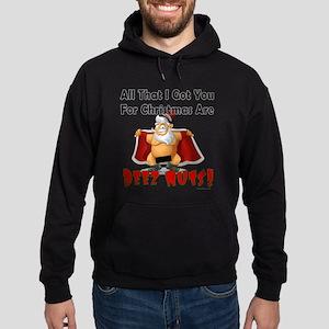 Santa Deez Nuts Hoodie (dark)