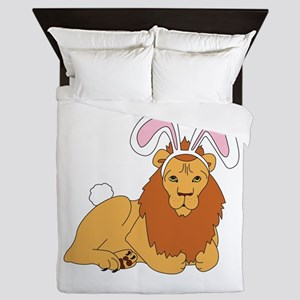 Lion Bunny Queen Duvet