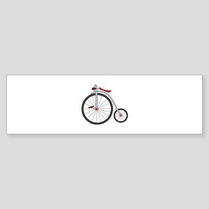 Vintage Bicycle Bumper Sticker
