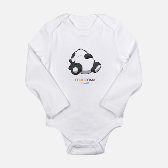 Cute Coma Long Sleeve Infant Bodysuit