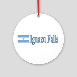 Iguazu Falls Ornament (Round)