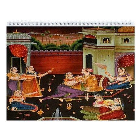 Indian Art Wall Calendar 12 Designs By Ethnocentric