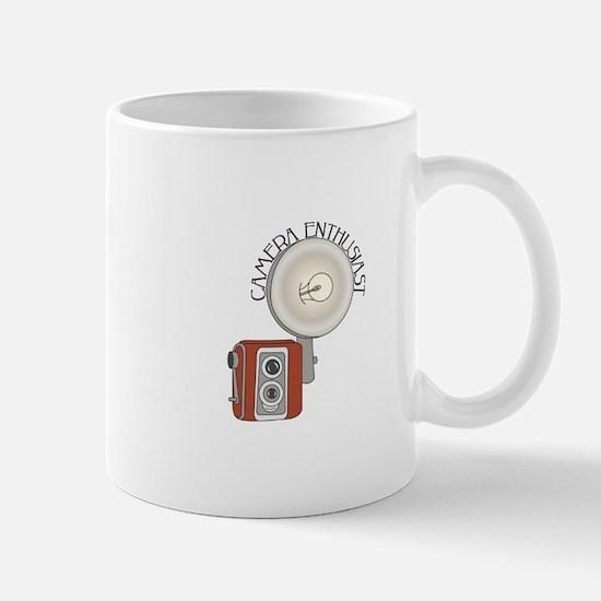 Flash Camera Enthusiast Mugs