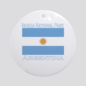 Iguazu National Park Ornament (Round)