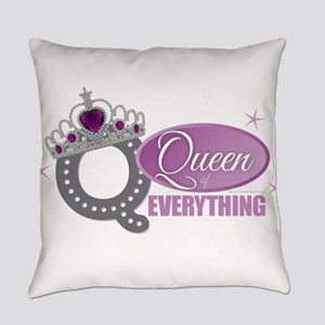 Queen Everything Orchid Everyday Pillow