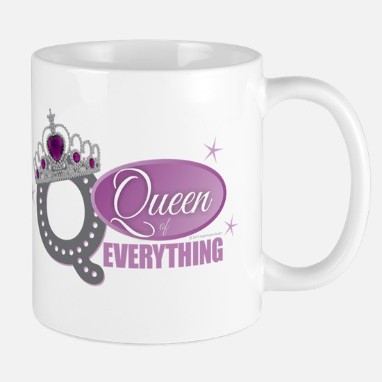 Queen Everything Orchid Mugs