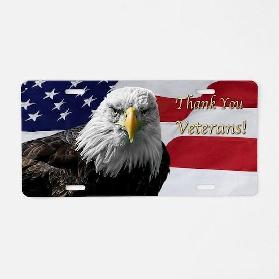 Cute American eagle Aluminum License Plate