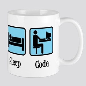 Eat Sleep Code 11 oz Ceramic Mug
