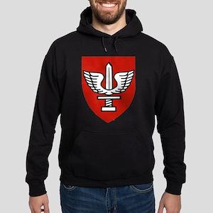 Kfir Brigade Logo Hoodie (dark)